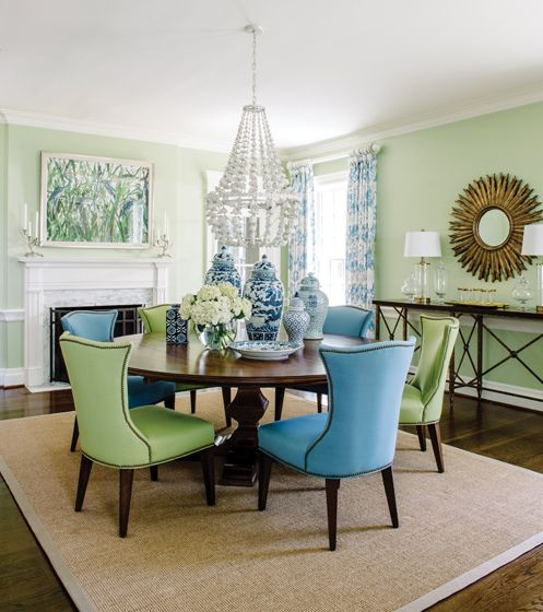 246 Best Decorating With Blue Amp Green Images On Pinterest