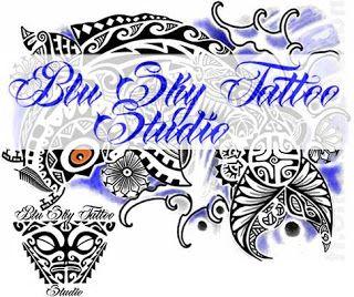 Blu Sky Tattoo Studio: Maori Significato 380