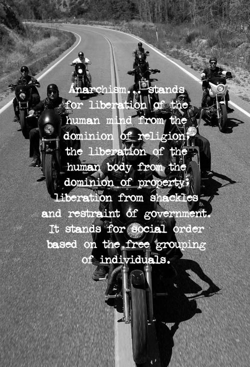 Anarchism.. Sons of anarchy