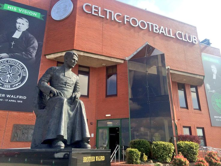 The Brother Walfrid Statue Stands At Doors Of Celtic Park As A Symbol
