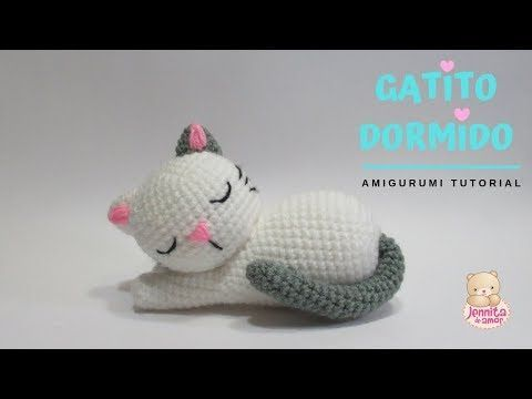 SLEEP KITTEN Amigurumi Tutorial – YouTube