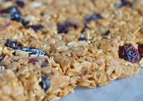 Homemade granola bars save us a decent bit of money since hubs eats ...
