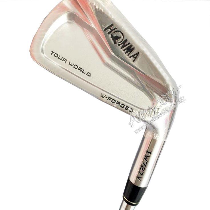 Hot nieuwe golfclubs honma tw727v ijzers set 4-10 ijzers Clubs en Nspro PRO 950 Staal Golf as ijzers grips Gratis verzending