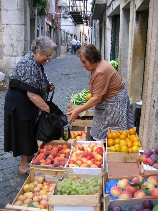 Lisbon, Portugal. Morning market http://www.enjoyportugal.eu/#!lisboa/cjbl