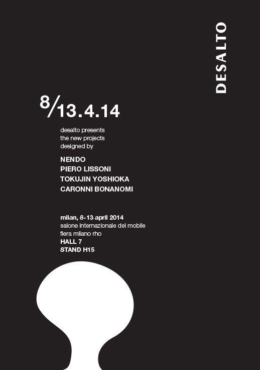 Desalto @ Milan Furniture Fair, Salone del Mobile 2014