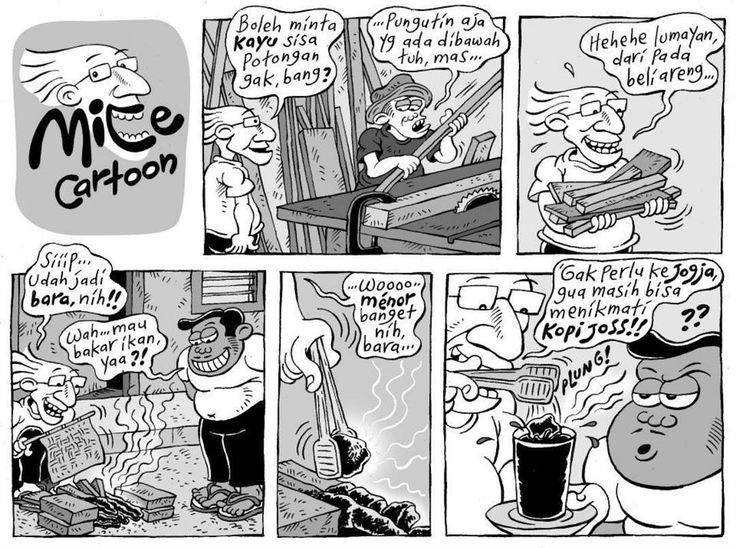 Mice Cartoon, Kompas Minggu: Kopi Joss