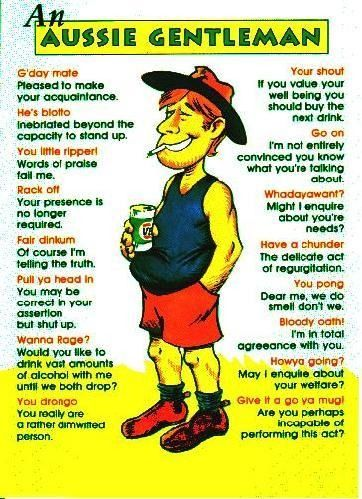 Styles of Aussie Humour- Where the bloody hell are you?