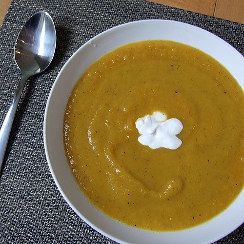 Curried Carrot Soup | For the Love of Soup! | Pinterest