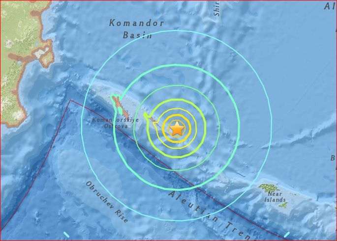Series of powerful earthquakes rocks the world within 14 hours: M7.7 in Russia, M6.2 in Russia and M6.4 in Peru. Huge stress releases around the world.
