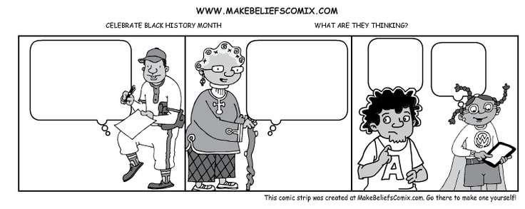 This blank comic template for you to print and fill in was