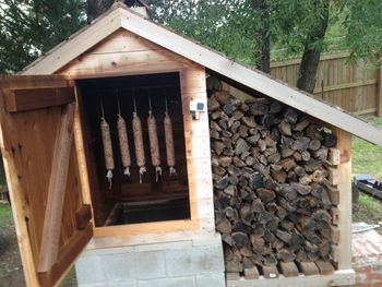 DIY Cedar Smoker. Pop to page one of the thread to see the build in pictures, step by step. Not a lot of direction but I think it is enough to figure out how to do the build.