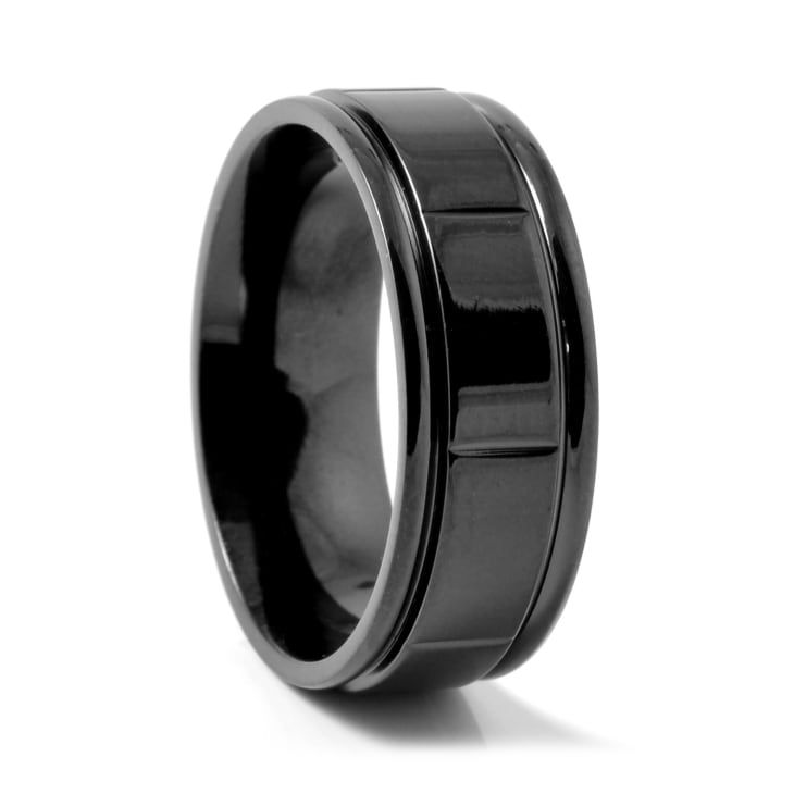 Black Brick Titanium Ring | In stock! | Fort Tempus