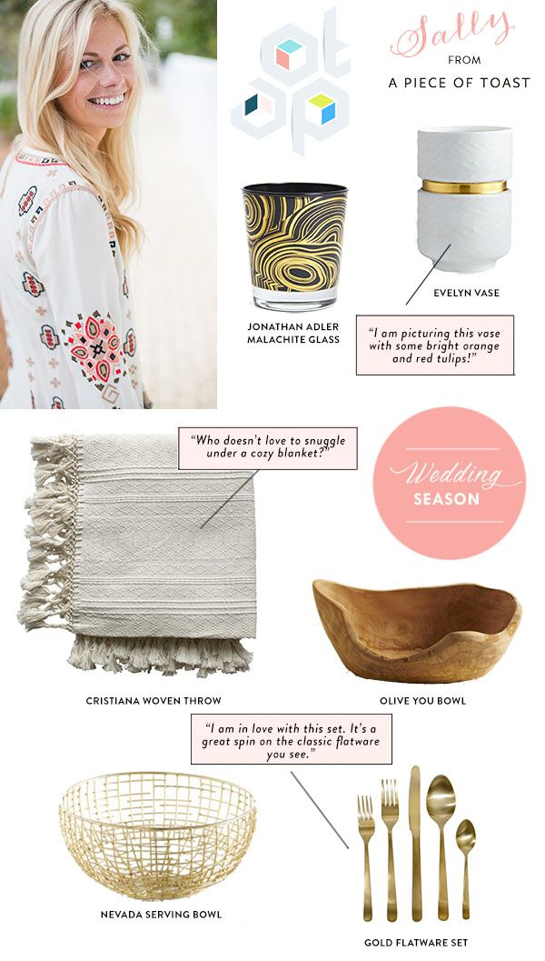 Shop For Your Registry at Lulu & Georgia with Sally from A Piece of Toast!