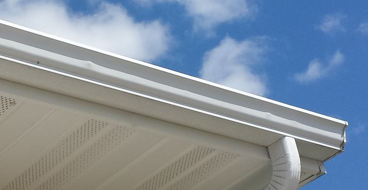 Tip: if you notice the paint on your gutters peeling or notice specks of orange, then you should consider new gutters. This resembles the beginning stages of rust and the possibility that water is not being disposed properly. The paint on the gutters is supposed to withstand seasonal wear and tear.  #tricountyenterprises #roofing #roof #shingles #asphalt #metal #asphaltroof #metalroof #siding #windows #gutters #underdeck #comfortzone #comfortzoneunderdeck #tce #tricounty #smallbusiness