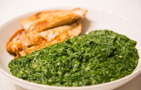 Fisch (Lachs) mit Spinat - Rezept - 21 Tage Stoffwechselkur