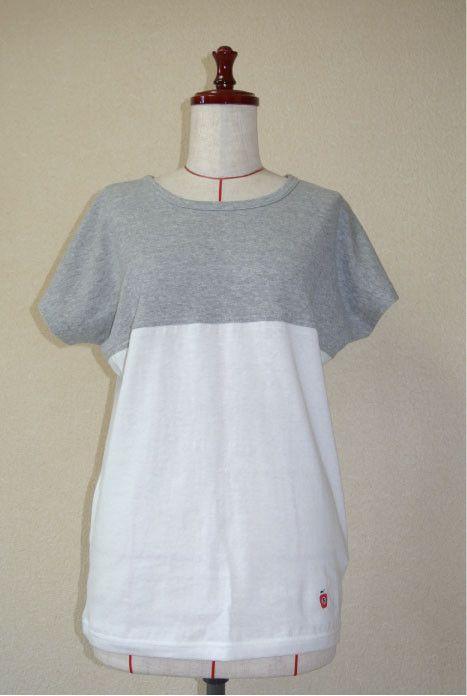 商品名 バイカラーTシャツ (オリジナル刺繍)サイズ セミオーダー生地  吊り編み天竺素材  綿100%枚数  2枚 (メンズ、レディース)|ハンドメイド、手作り、手仕事品の通販・販売・購入ならCreema。