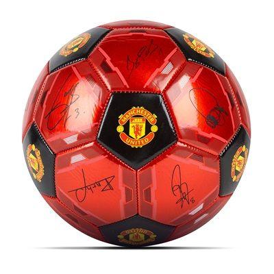 Manchester United Signature Football - Red-Black - Size 5: Manchester United Signature Football… #ManUtdShop #MUFCShop #ManchesterUnitedShop