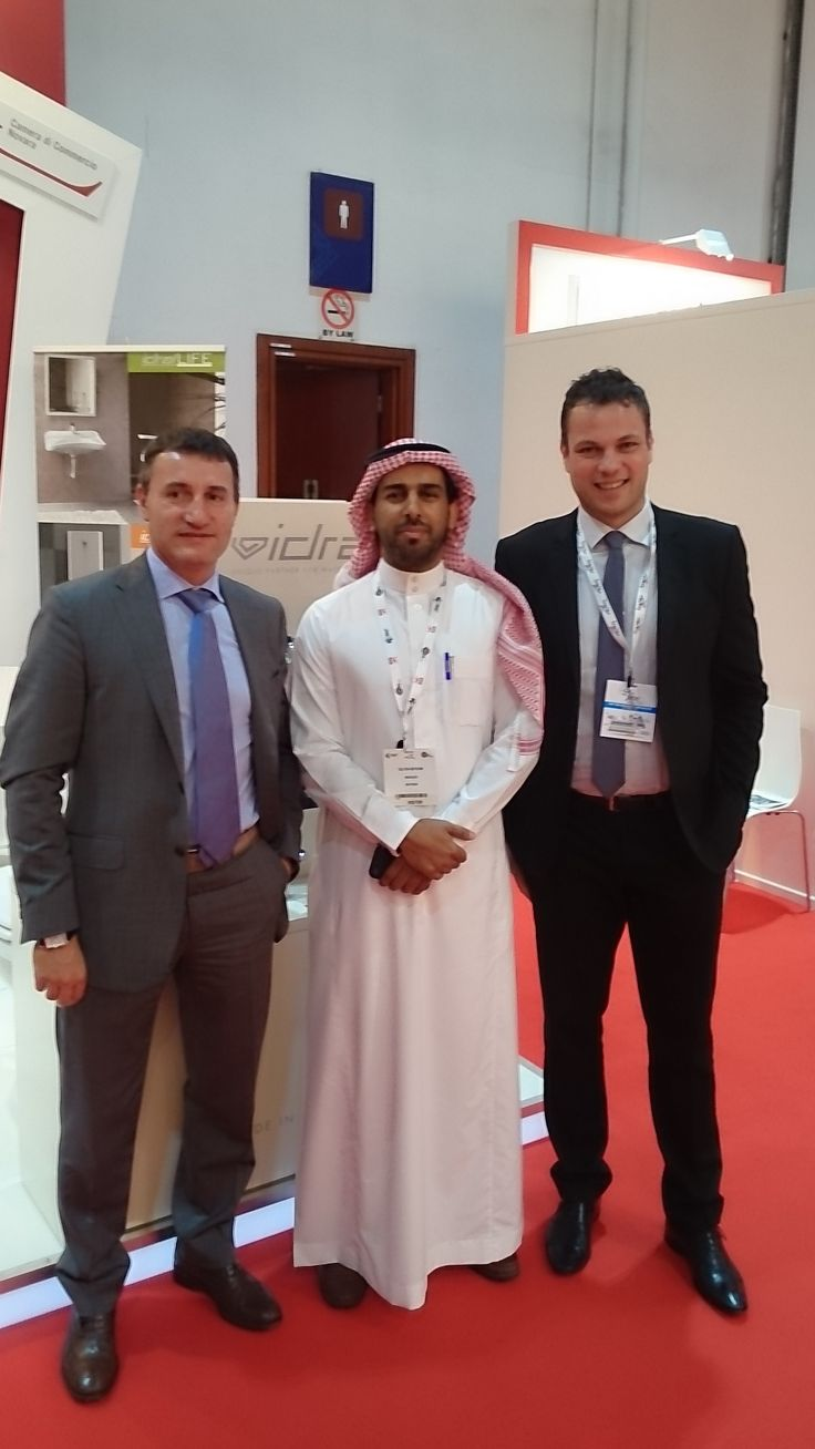 Our staff at Big 5, International Construction & Building Show, Dubai, November 17-20 2014
