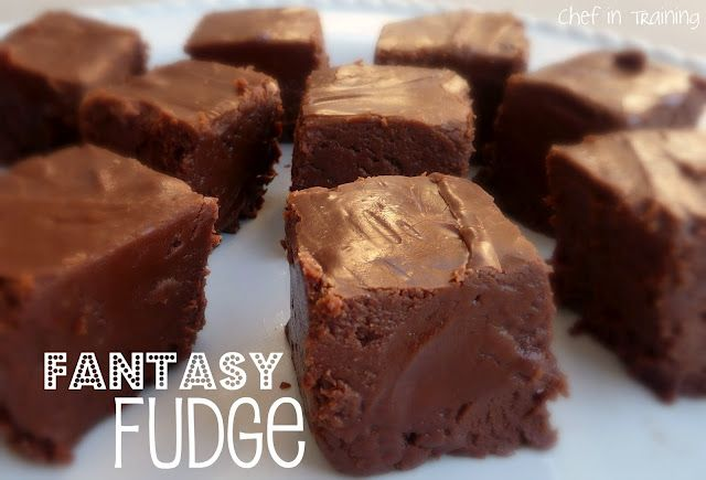 Fantasy Fudge. This is a fabulous recipe for traditional fudge!