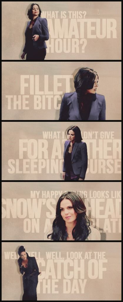 Day 10 Funniest moment: I cannot choose! Regina is so hilarious (but so is Rumple and everyone else)!