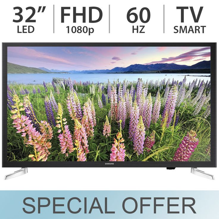 Samsung 32 inch 1080p FULL HD 60Hz LED SMART TV with Built-in WiFi  UN32J5205