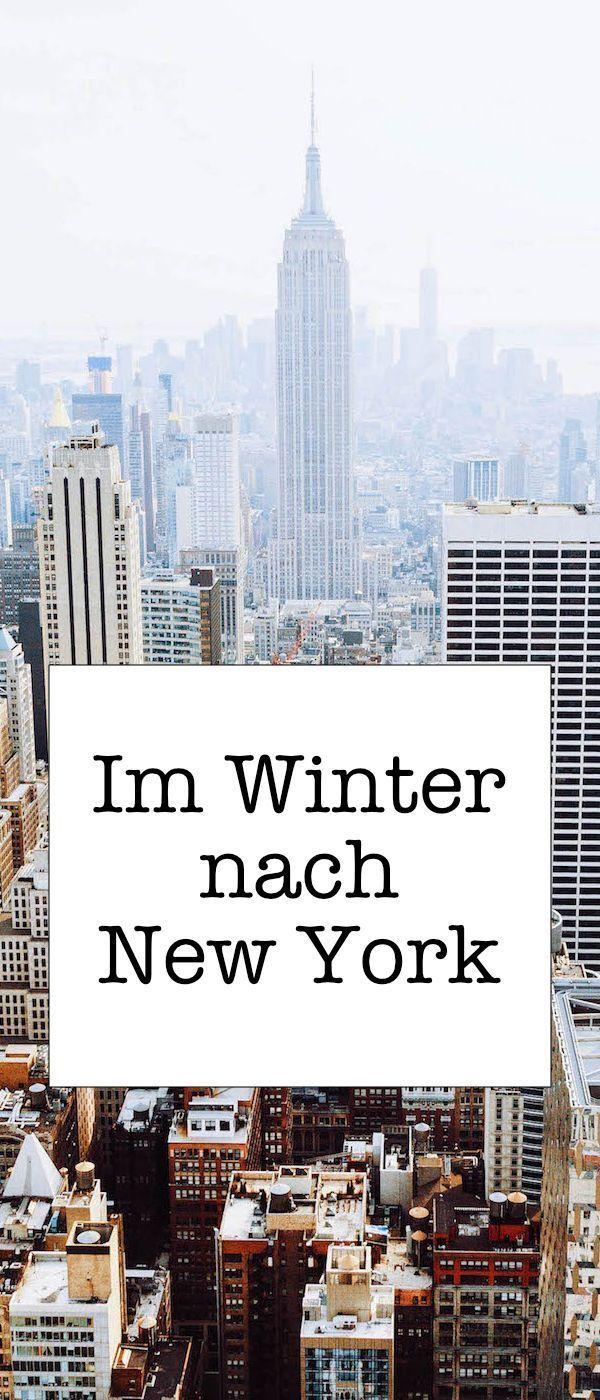 Im Winter nach New York: Hier sind 5 Tipps