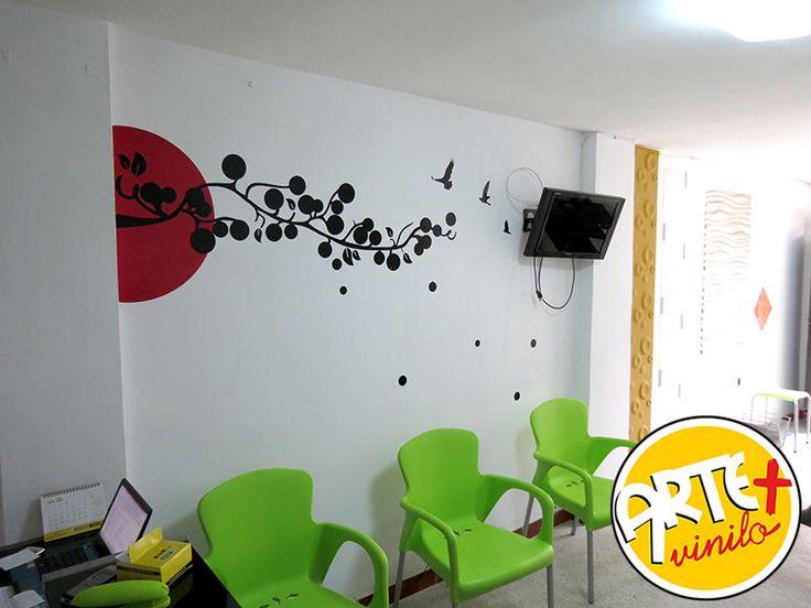 vinilo decorativo oficinas