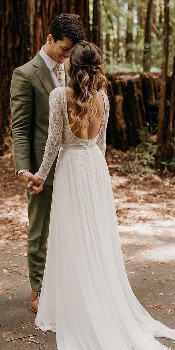 Fall In Love With These Charming Rustic Wedding Dresses Chic Wedding Dresses Boho Chic Wedding Dress Wedding Dresses