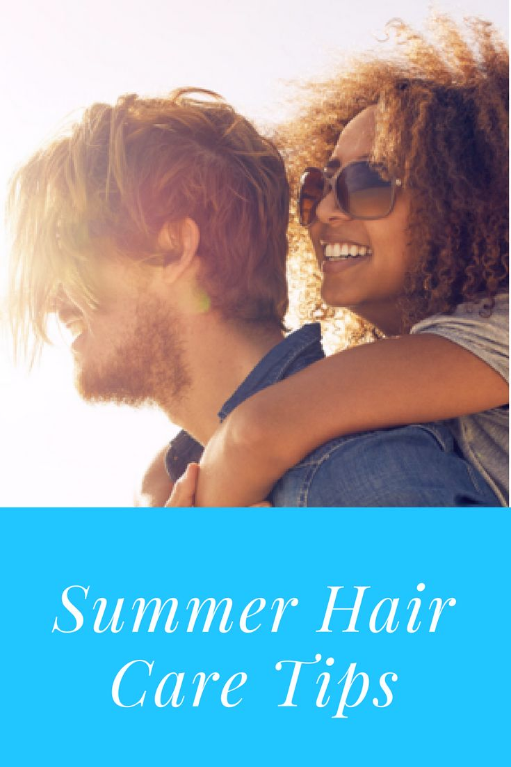 We love warm weather, sunshine and swimming pools – but not what they do to our hair! In the summer, the combination of hot and humid weather plus wear and tear from our favorite summer activities can lead to dryness, frizz, breakage, and even changes in hair color. That's not the look you want for your summer vacation! There's no need to stay indoors however, follow these summer hair care tips for beautiful hair all season long!