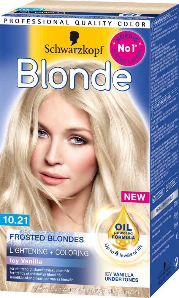 Schwarzkopf Blonde Sac Boyasi 10 21 Buzlu Vanilya Sarisi Dyed