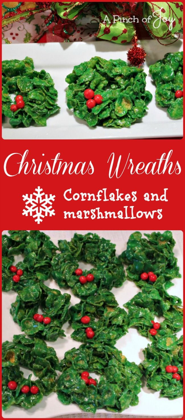 Christmas Wreath Candy � Cornflakes and Marshmallows