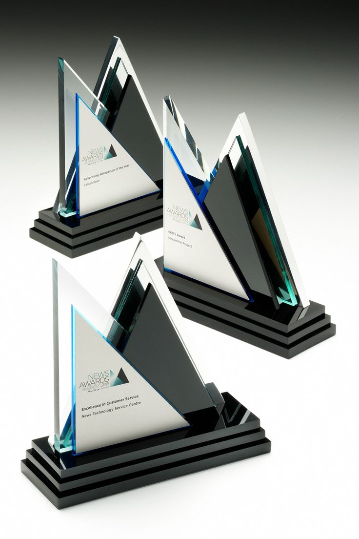News Corp Award Trophies | Design Awards