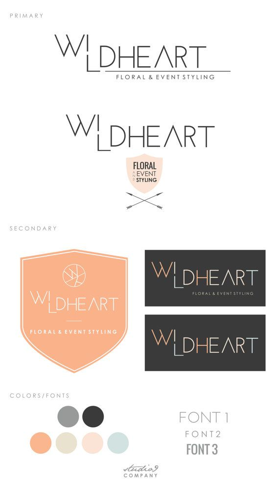 COMPLETE BRANDING PACKAGE by Studio9Co on Etsy, $295.00