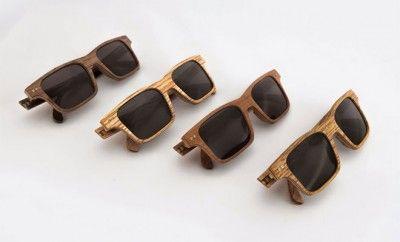 Lunettes de Soleil en bois de la marque In'Bô 100 % made in France #peah #modehomme #lunettesenbois #inbo