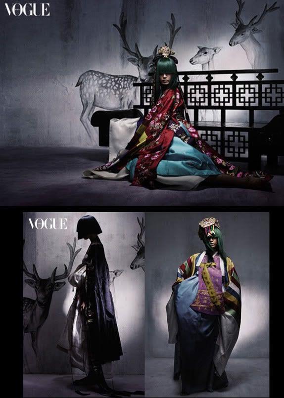 Détail de l'image -Hanbok Vogue