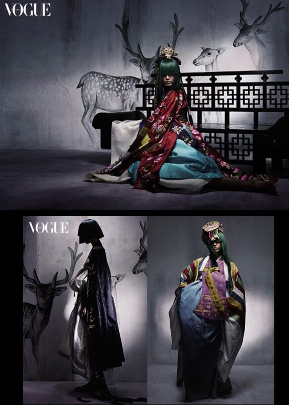 Ming's Journal - Hanbok Vogue