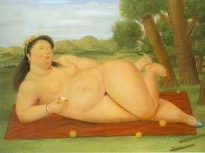Colombiana 1986 Paintings | Fernando Botero paintings