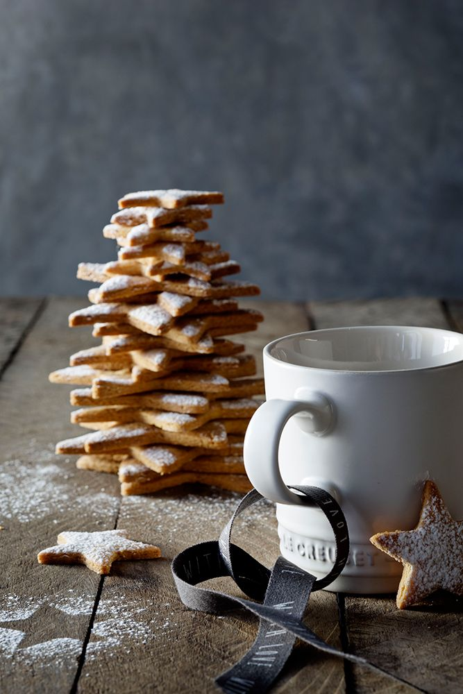 Le Creuset Cotton Mug // Star Ginger Biscuits