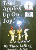 Mathwire.com | Math Literature: Number Sense Part part whole ten apples up on top Ten Black Dots Donald Crews