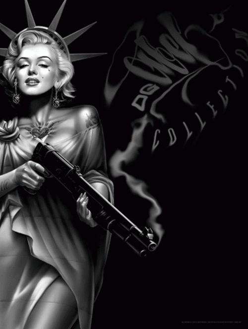 og abel imágenes | Og Abel Marilyn Monroe Art