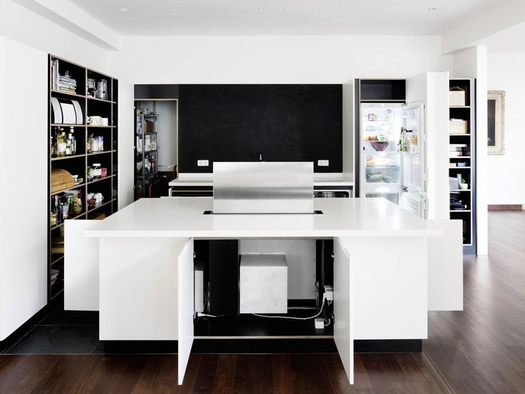#Architecture in #Germany - #Kitchens by Cama A. ph Hiepler, Brunier