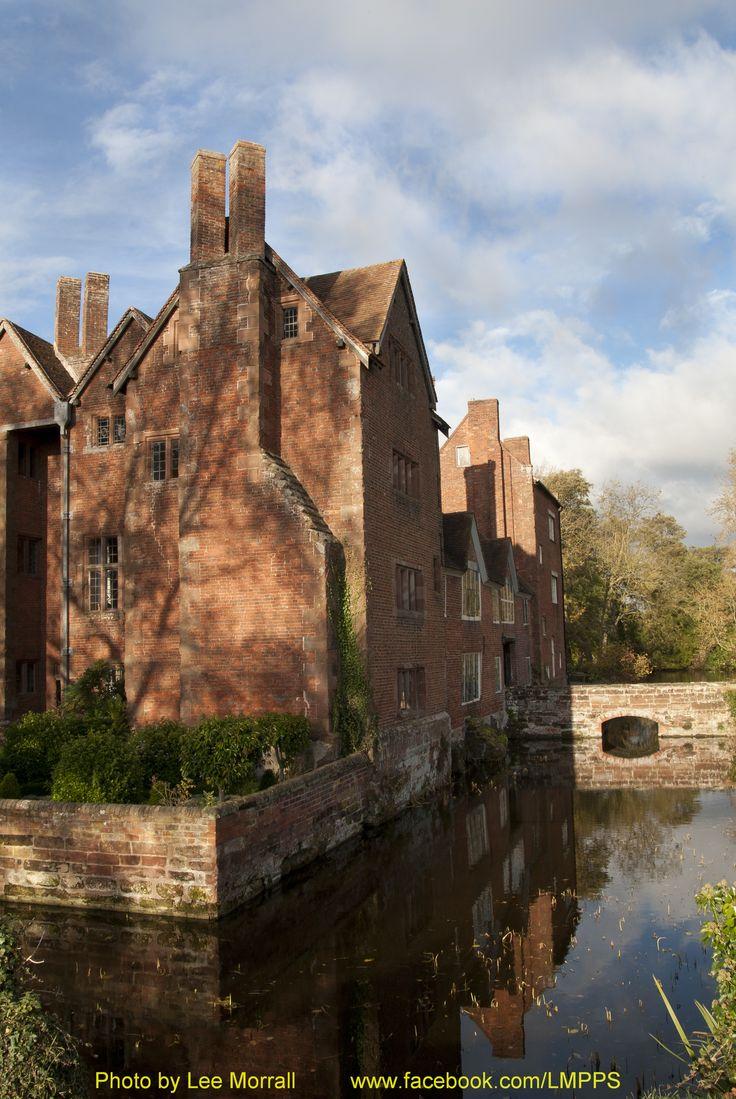 Harvington Hall, Worcestershire, England.