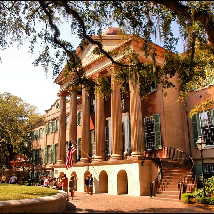 The College of Charleston was founded in 1770 and chartered in 1785, making it the oldest college or university in South Carolina, the 13th oldest institution of higher learning in the United States and the oldest municipal college in the country. And certainly one of the most beautiful!