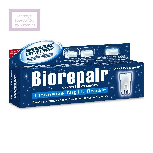 BioRepair Nignt, Intensywna pasta pielęgnująca zęby w nocy
