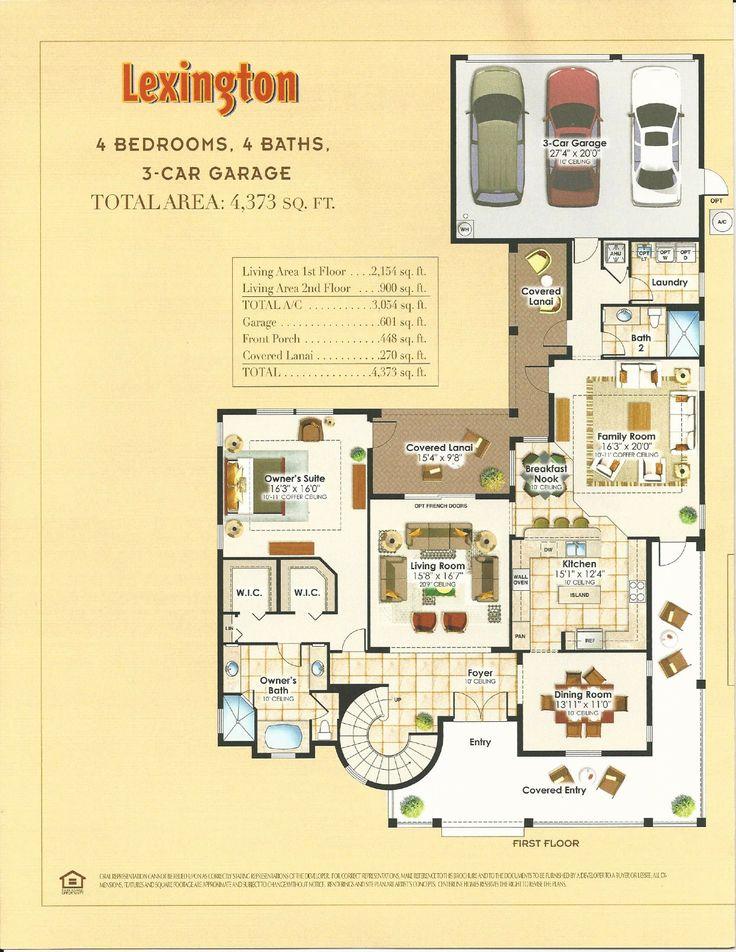 85 best summerlake in winter garden florida images on for Ron lee homes floor plans