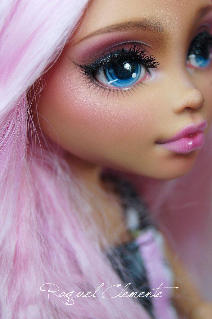 "OOAK / Face up Monter High Howleen ""Rose"" | Flickr - Photo Sharing!"