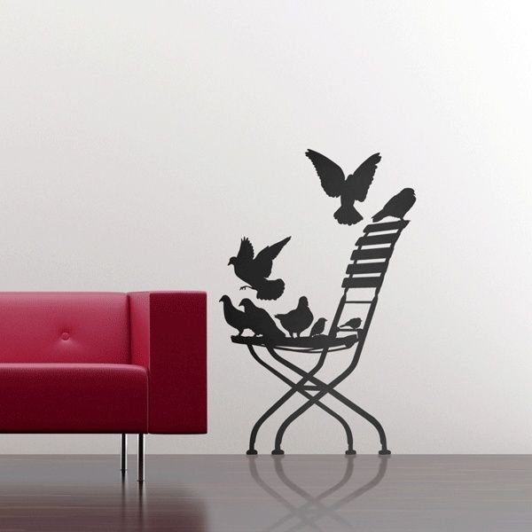 24 Cool Wallpaper Stickers Ideas for Creative Interiors - http://freshome.com/2010/07/02/24-cool-wallpaper-stickers-ideas-for-creative-interiors/