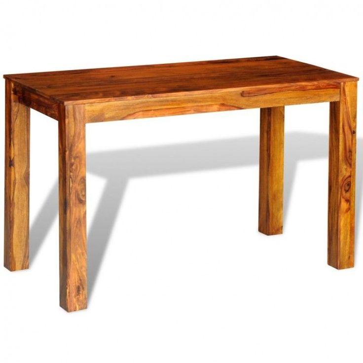 Modern Home Dining Table Rectangular Office Furniture Kitchen Wooden Handmade #ModernHomeDiningTable