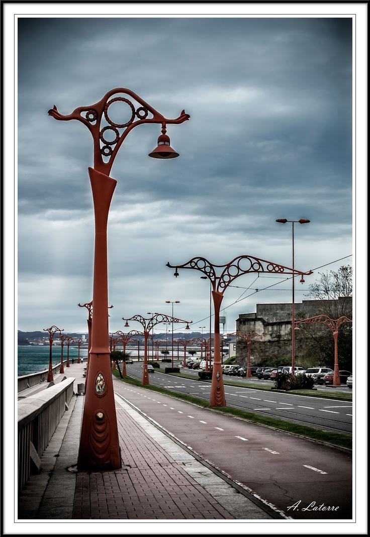 Coruña, paseo marítimo