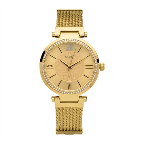 Guess Uhr Ladies Sport Soho Zirkonia gold W0638L2 http://www.thejewellershop.com/ #guess #uhr #ladies #soho #watch #uhren #zirkonia #gold #jewelry #schmuck #woman